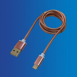 Cable USB - Mini USB, Varios Colores