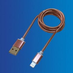 Cable USB - Apple, Metal