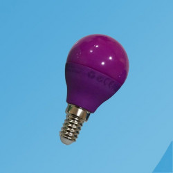 Bombilla purpura, LED