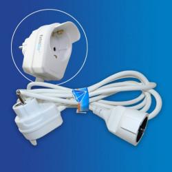 Cable alargador, con conectores