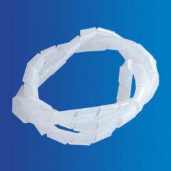 Vendas de embalaje espiral, transparente.