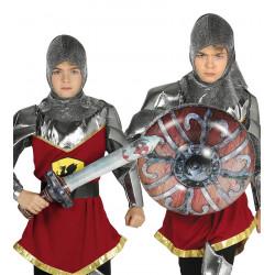 Set de espada y escudo hinchables