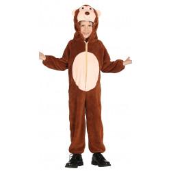 Disfraz de Mono infantil . traje de  peluche para niño.