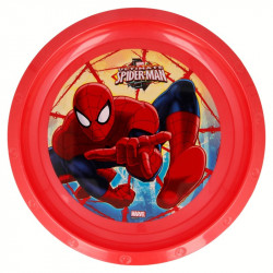 Plato Ultimate Spider-Man, Plástico