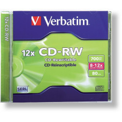 CD-Regrabable 700MB, Verbatim