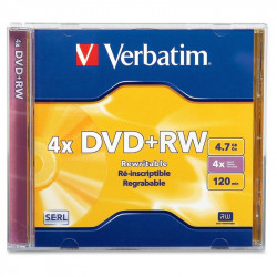 DVD-Regrabable 4.7GB, Verbatim