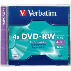 DVD-RW 4.7GB, Verbatim