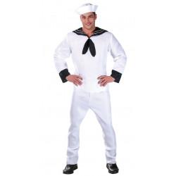 Disfraz de marinero adulto. Disfraz de capitán marinero para adulto