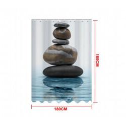 Cortina de Baño Zen, 180x180 Cms