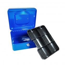 Caja Caudal de Metal 15.2*11*8 cm. Caja de seguridad portátil de metal