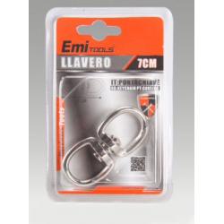 Llavero de metal de 7 cm