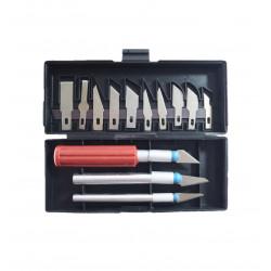Set de Cuchillos para esculpir, 13 PCS
