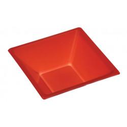 Cuenco Cuadrado Rojo