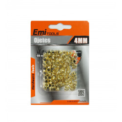 Set de Ojetes de 4 mm,  100 PCS