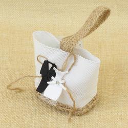 Bolsita de Regalo de Bodas con traje de novios, 4*6 cm