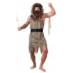Disfraz de troglodita para adulto. Disfraz de hombre de las cavernas