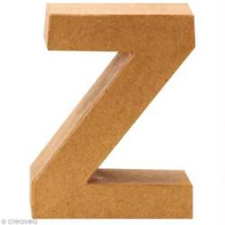 Letra de Cartón 3D, Z