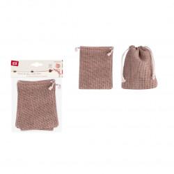 Sacos de tela con cierre de cordon