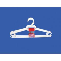 Pack 3 Perchas de Plástico, Blanco