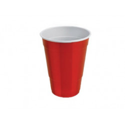 Vaso Party Bicolor Rojo