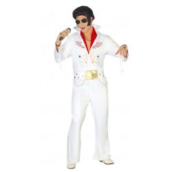 Disfraz de Rey del Rock Adulto. Disfraz de Elvis Presley para adulto