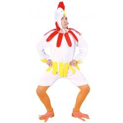 Disfraz de gallina para hombre. Disfraz de pollito para adulto