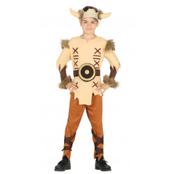Disfraz de Vikingo Clásico Infantil . traje de vikingo para niño.
