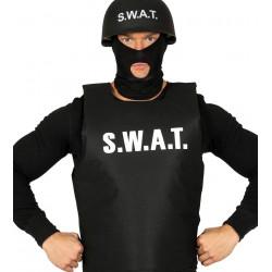 Chaleco SWAT para adulto. Chaleco policial antibalas