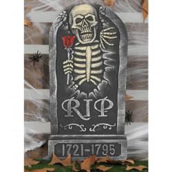 Lápida Esqueleto Grande 66cm