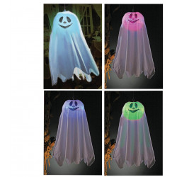 Fantasma Colgante con Luces de Colores