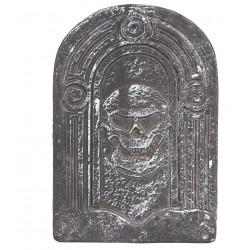 Lápida Calavera Pequeña de Poliespán
