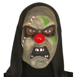 Máscara de Payaso Zombie, Látex