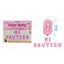 Set de 9 pcs,  Mi Bautizo