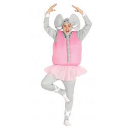Disfraz de elefante bailarín para adulto
