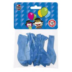 Globos Azules 12 unidades