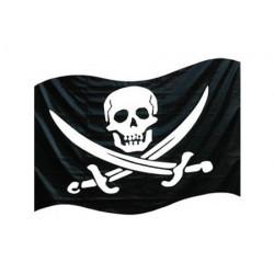 Bandera Pirata con Asta