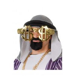 Gafas Dolar de Millonario, Color Oro