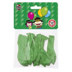 Globos Verdes 12 unidades
