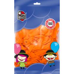 Globos Naranja 100 unidades. Globos para Cumpleaños y Halloween