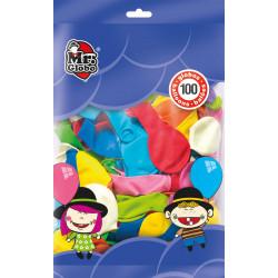 Globos de Colores 100 unidades. Globos de látex para cumpleaños y fiestas