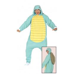 Disfraz de tortuga azul adulto. Disfraz de Pokémon Squirtle para adulto