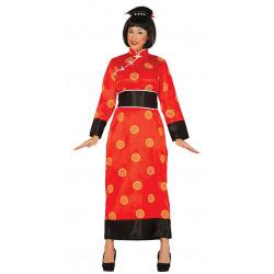 Disfraz Kimono de China Adulta. Vestido Oriental de Geisha