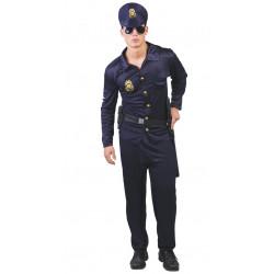 Disfraz de agente policía para adulto