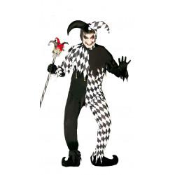 Disfraz de Joker Negro Adulto