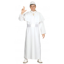 Disfraz de Papa / Cura Adulto