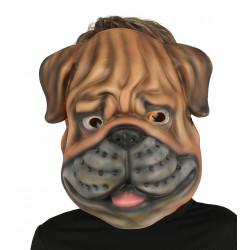 Careta de Perro Bulldog de EVA
