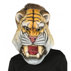 Careta de Tigre de Goma EVA