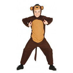 Disfraz de Monito infantil . traje de mono para niño.