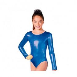 Maillot Infantil, Azul Metalizado