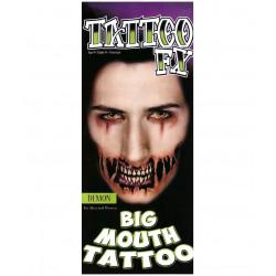 Tattoo Boca Grande Colmillos